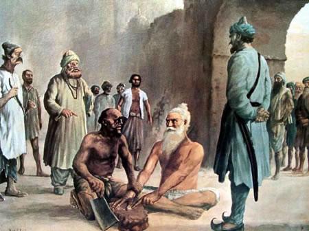 Shaheed Bhai Mani Singh Ji