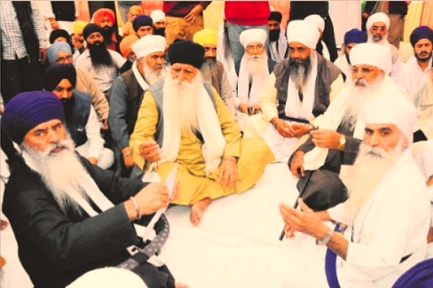 Sadh Union Lobbying at Sri Akal Takht Sahib