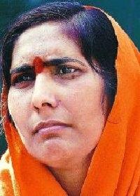 Radical Hindu Sadhvi Ritambhara