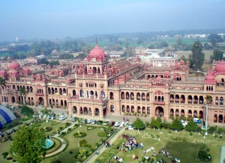 Arial View of the Historic Khalsa College Amritsar